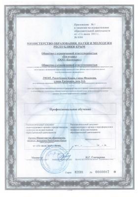 Лицензия автошкола РФ